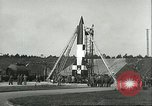 Image of A-4 missile Peenemunde Germany, 1943, second 24 stock footage video 65675062550