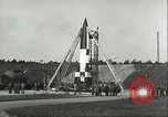 Image of A-4 missile Peenemunde Germany, 1943, second 26 stock footage video 65675062550