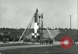 Image of A-4 missile Peenemunde Germany, 1943, second 28 stock footage video 65675062550