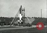 Image of A-4 missile Peenemunde Germany, 1943, second 29 stock footage video 65675062550