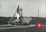 Image of A-4 missile Peenemunde Germany, 1943, second 31 stock footage video 65675062550