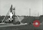 Image of A-4 missile Peenemunde Germany, 1943, second 36 stock footage video 65675062550