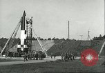 Image of A-4 missile Peenemunde Germany, 1943, second 39 stock footage video 65675062550