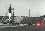 Image of A-4 missile Peenemunde Germany, 1943, second 40 stock footage video 65675062550