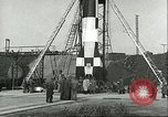 Image of A-4 missile Peenemunde Germany, 1943, second 42 stock footage video 65675062550