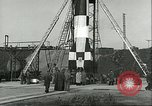 Image of A-4 missile Peenemunde Germany, 1943, second 43 stock footage video 65675062550