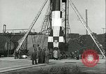 Image of A-4 missile Peenemunde Germany, 1943, second 44 stock footage video 65675062550
