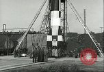 Image of A-4 missile Peenemunde Germany, 1943, second 45 stock footage video 65675062550