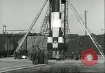 Image of A-4 missile Peenemunde Germany, 1943, second 46 stock footage video 65675062550