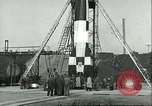 Image of A-4 missile Peenemunde Germany, 1943, second 48 stock footage video 65675062550