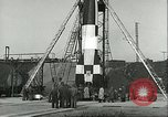Image of A-4 missile Peenemunde Germany, 1943, second 49 stock footage video 65675062550