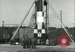 Image of A-4 missile Peenemunde Germany, 1943, second 50 stock footage video 65675062550