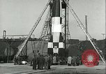 Image of A-4 missile Peenemunde Germany, 1943, second 51 stock footage video 65675062550
