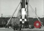 Image of A-4 missile Peenemunde Germany, 1943, second 53 stock footage video 65675062550