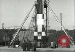 Image of A-4 missile Peenemunde Germany, 1943, second 54 stock footage video 65675062550