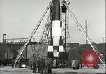 Image of A-4 missile Peenemunde Germany, 1943, second 55 stock footage video 65675062550