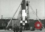 Image of A-4 missile Peenemunde Germany, 1943, second 56 stock footage video 65675062550