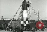 Image of A-4 missile Peenemunde Germany, 1943, second 57 stock footage video 65675062550