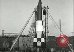 Image of A-4 missile Peenemunde Germany, 1943, second 60 stock footage video 65675062550