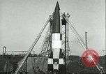 Image of A-4 missile Peenemunde Germany, 1943, second 62 stock footage video 65675062550