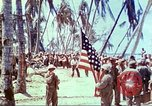 Image of Battle of Tarawa Pacific Ocean, 1943, second 30 stock footage video 65675062561