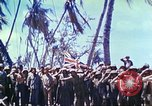 Image of Battle of Tarawa Pacific Ocean, 1943, second 57 stock footage video 65675062561