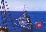 Image of Destroyer USS Frazier, DD-607 Tarawa Gilbert Islands, 1944, second 38 stock footage video 65675062566