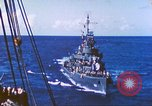 Image of Destroyer USS Frazier, DD-607 Tarawa Gilbert Islands, 1944, second 40 stock footage video 65675062566