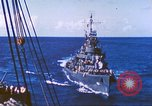 Image of Destroyer USS Frazier, DD-607 Tarawa Gilbert Islands, 1944, second 41 stock footage video 65675062566