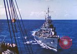 Image of Destroyer USS Frazier, DD-607 Tarawa Gilbert Islands, 1944, second 42 stock footage video 65675062566