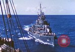 Image of Destroyer USS Frazier, DD-607 Tarawa Gilbert Islands, 1944, second 46 stock footage video 65675062566