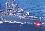 Image of Destroyer USS Frazier, DD-607 Tarawa Gilbert Islands, 1944, second 50 stock footage video 65675062566