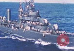 Image of Destroyer USS Frazier, DD-607 Tarawa Gilbert Islands, 1944, second 51 stock footage video 65675062566