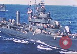 Image of Destroyer USS Frazier, DD-607 Tarawa Gilbert Islands, 1944, second 52 stock footage video 65675062566