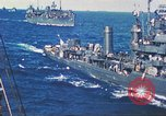 Image of Destroyer USS Frazier, DD-607 Tarawa Gilbert Islands, 1944, second 55 stock footage video 65675062566