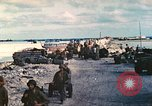 Image of United States soldiers Tarawa Gilbert Islands, 1944, second 39 stock footage video 65675062567