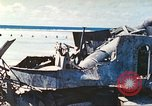 Image of Japanese coastal defense gun Tarawa Gilbert Islands, 1944, second 13 stock footage video 65675062569