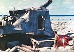 Image of Japanese coastal defense gun Tarawa Gilbert Islands, 1944, second 19 stock footage video 65675062569