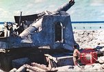 Image of Japanese coastal defense gun Tarawa Gilbert Islands, 1944, second 21 stock footage video 65675062569