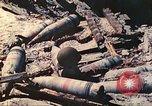 Image of Japanese coastal defense gun Tarawa Gilbert Islands, 1944, second 55 stock footage video 65675062569