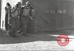 Image of Pilots of 332nd Fighter Group head out on a mission Termoli Italy, 1944, second 38 stock footage video 65675062599