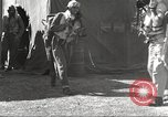 Image of Pilots of 332nd Fighter Group head out on a mission Termoli Italy, 1944, second 46 stock footage video 65675062599