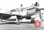 Image of Ground crewmwn servicing P-51s of the 332nd Fighter Group Termoli Italy, 1944, second 1 stock footage video 65675062602