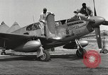 Image of Ground crewmwn servicing P-51s of the 332nd Fighter Group Termoli Italy, 1944, second 6 stock footage video 65675062602