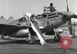 Image of Ground crewmwn servicing P-51s of the 332nd Fighter Group Termoli Italy, 1944, second 9 stock footage video 65675062602