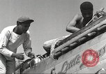 Image of Ground crewmwn servicing P-51s of the 332nd Fighter Group Termoli Italy, 1944, second 13 stock footage video 65675062602