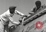 Image of Ground crewmwn servicing P-51s of the 332nd Fighter Group Termoli Italy, 1944, second 16 stock footage video 65675062602