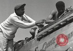 Image of Ground crewmwn servicing P-51s of the 332nd Fighter Group Termoli Italy, 1944, second 17 stock footage video 65675062602
