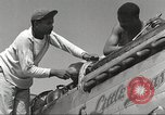 Image of Ground crewmwn servicing P-51s of the 332nd Fighter Group Termoli Italy, 1944, second 18 stock footage video 65675062602
