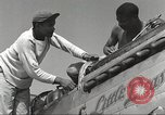 Image of Ground crewmwn servicing P-51s of the 332nd Fighter Group Termoli Italy, 1944, second 19 stock footage video 65675062602